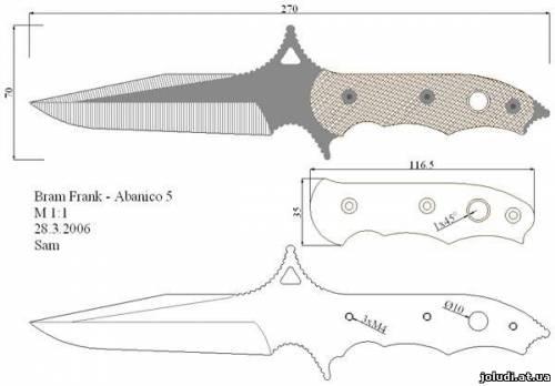 Как сделать ножи из дерева своими руками